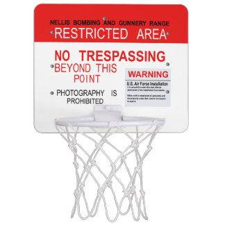 AREA 51 Dreamland Mini Basketball Goal Mini Basketball Backboard