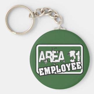 AREA 51 Employee Keychain
