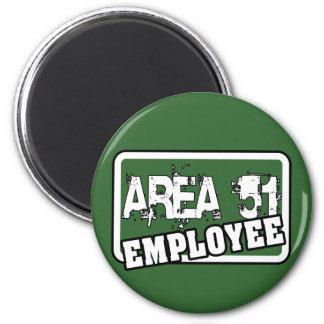 AREA 51 Employee Magnet