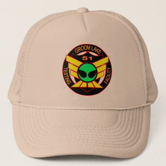Area 51 Green Alien Hat