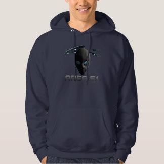 Área 51 jersey con capucha
