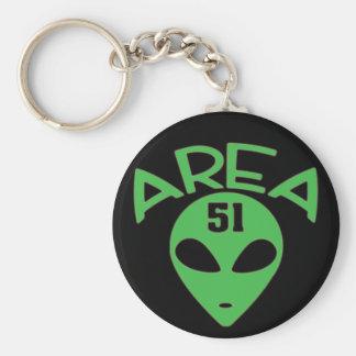 AREA 51 KEYCHAIN