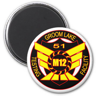 Area 51 Majestic 12 2 Inch Round Magnet
