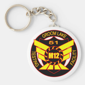 Area 51 Majestic 12 Basic Round Button Keychain