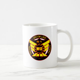 Area 51 Majestic 12 Classic White Coffee Mug