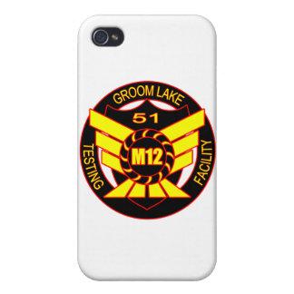 Area 51 Majestic 12 iPhone 4/4S Case