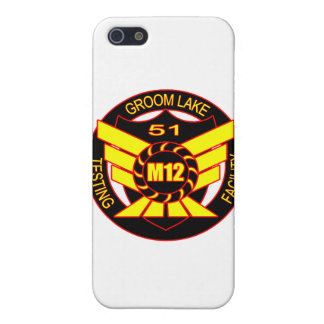 Area 51 Majestic 12 Cover For iPhone 5