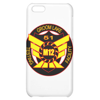Area 51 Majestic 12 Case For iPhone 5C