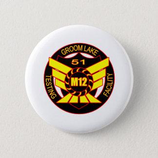 Area 51 Majestic 12 Pinback Button