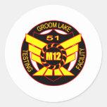 Area 51 Majestic 12 Sticker