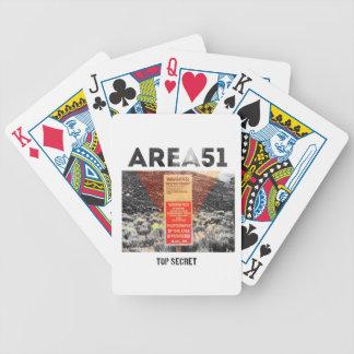 Área 51 - Máximo secreto - tarjetas de los extranj Barajas De Cartas
