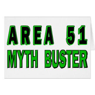 Area 51 Myth Buster Card