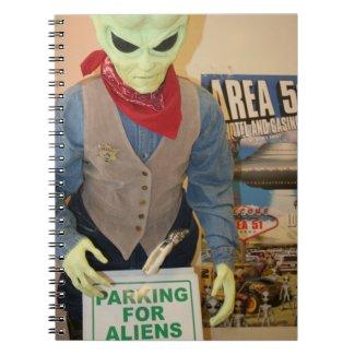 Area 51 Nevada Notebook
