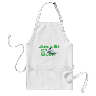 Area 51 or Bust! Aprons