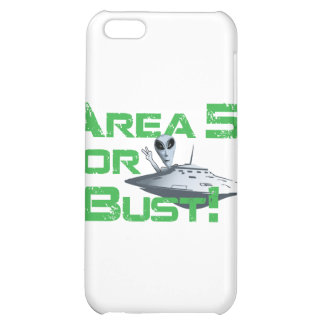 Area 51 or Bust! iPhone 5C Covers
