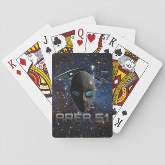 Area 51 playing cards