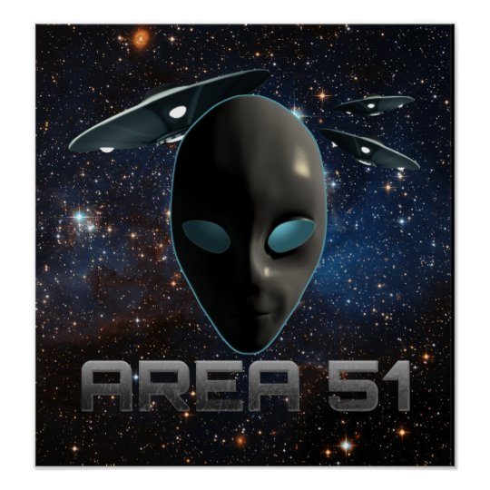 Área 51 póster