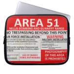 Area 51 Sign Computer Sleeve