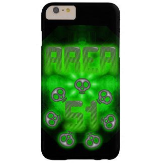 Area 51 Skulls Barely There iPhone 6 Plus Case