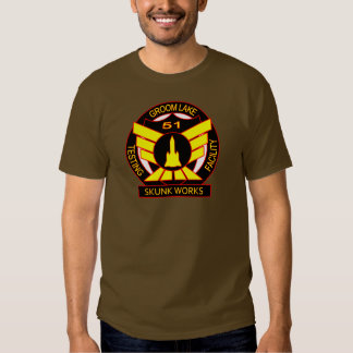 Area 51 Skunk Works Security Shirt