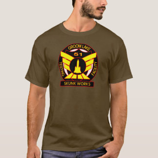 Area 51 Skunk Works Security Shirt