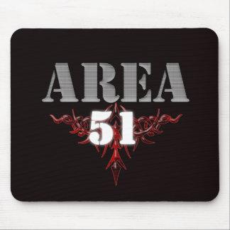 ÁREA 51 TAPETE DE RATON