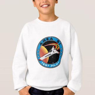 Area 51 Test Pilot Sweatshirt