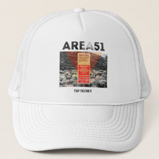 Area 51 - Top Secret - Aliens  Hat
