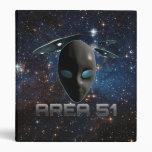 Area 51 vinyl binder