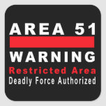 Area 51 Warning Stickers