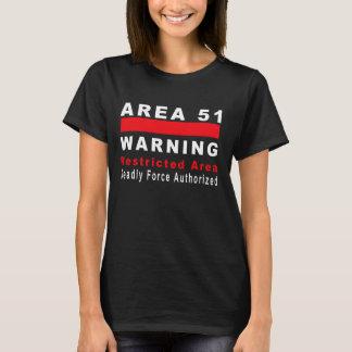 Area 51 Warning T-Shirt