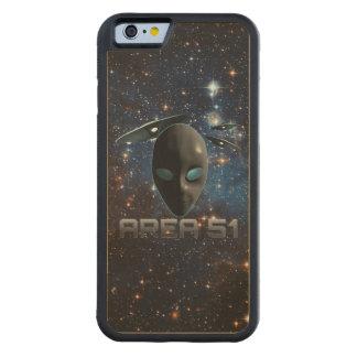 Area 51 carved® maple iPhone 6 bumper case