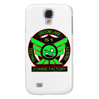 Area 51 Zombie Factory Galaxy S4 Covers