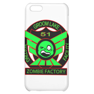 Area 51 Zombie Factory Cover For iPhone 5C