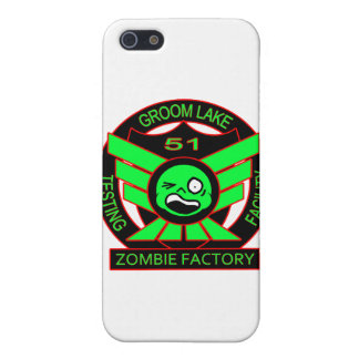 Area 51 Zombie Factory iPhone 5 Cover