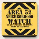 Area 52 Neighborhood Watch Coasters