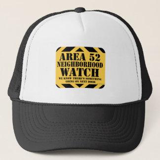 Area 52 Neighborhood Watch Trucker Hat