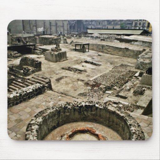 Área ceremonial de alcalde de Templo, Ciudad de Mé Alfombrilla De Ratón