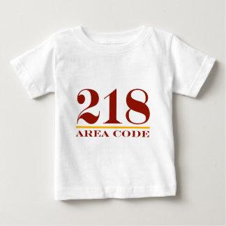 Area Code 218 Baby T-Shirt