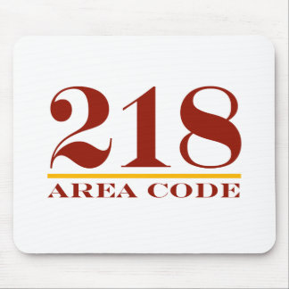 Area Code 218 Mousepad