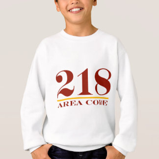 Area Code 218 Sweatshirt