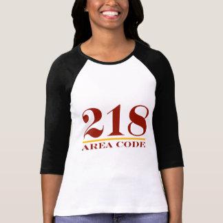 Area Code 218 T-Shirt