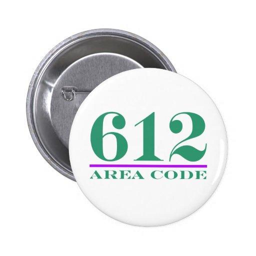 Area Code 612 Button