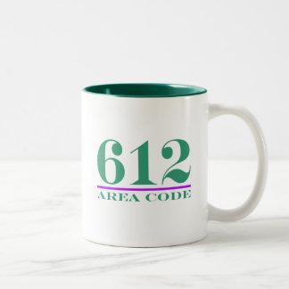 Area Code 612 Mugs