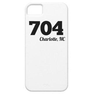 Area Code 704 Charlotte NC iPhone 5 Case