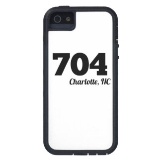 Area Code 704 Charlotte NC iPhone 5 Cover