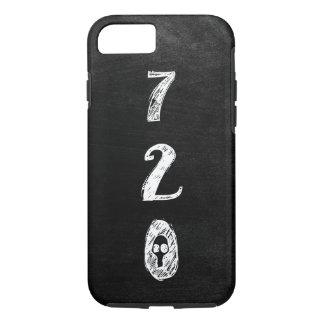 Area Code 720 Pride, Goth, Grunge, Skull iPhone 8/7 Case