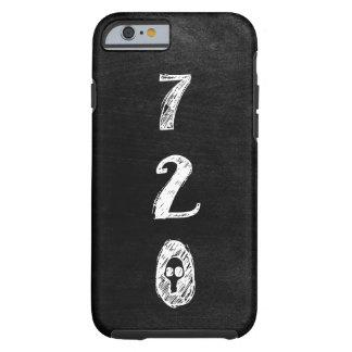 Area Code 720 Pride, Goth, Grunge, Skull Tough iPhone 6 Case