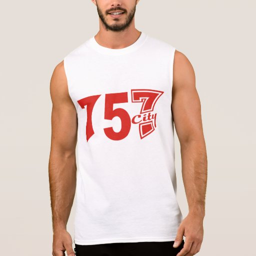 Area Code 757city - Red T Shirts