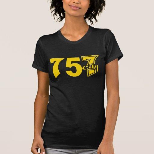 Area Code 757city - Yellow Shirts